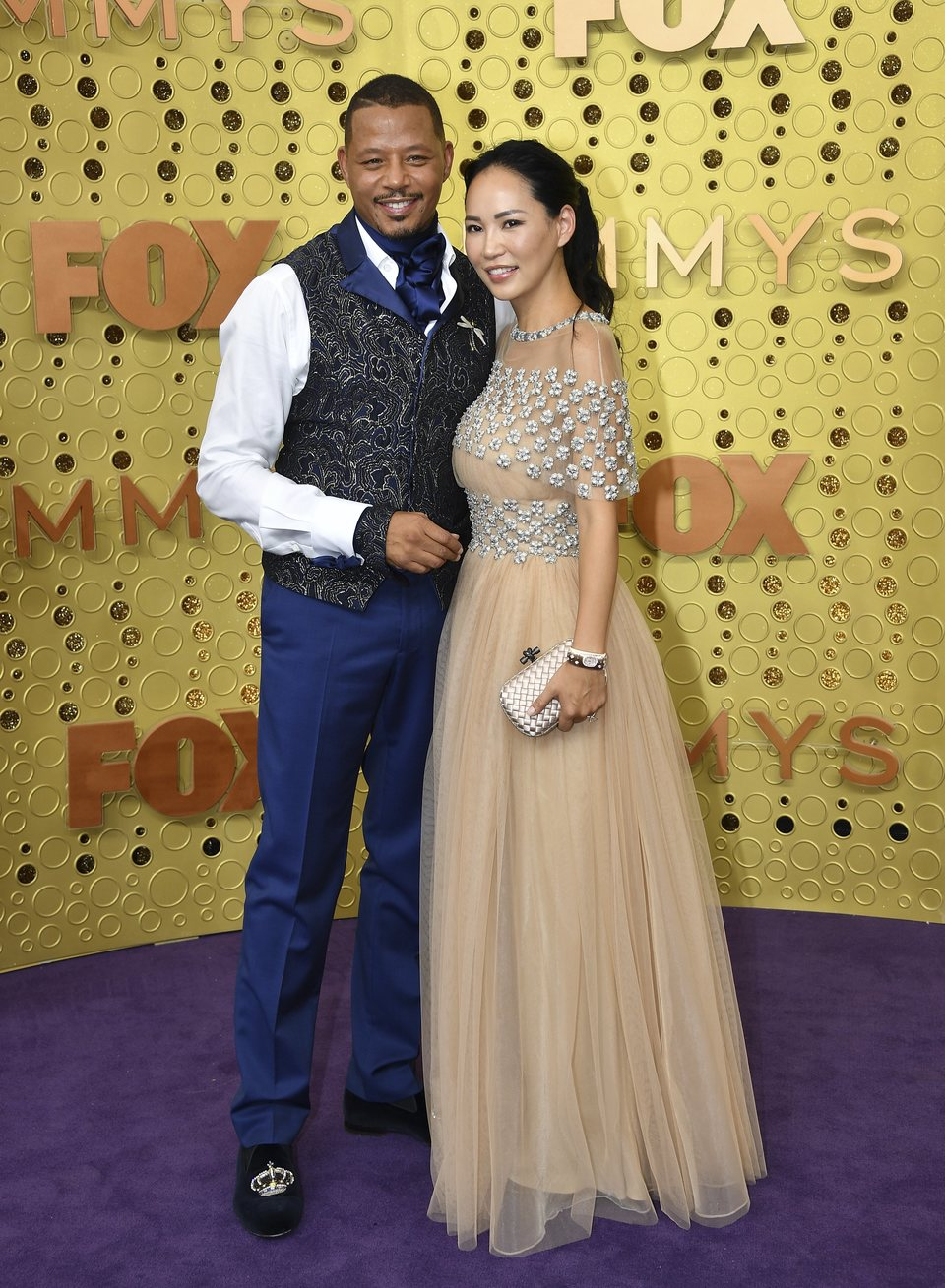 Terrence Howard at the Emmy 2019 red carpet