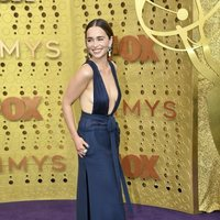 Emilia Clarke at the Emmy 2019 red carpet