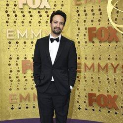 Lin-Manuel Miranda at the Emmy 2019 red carpet