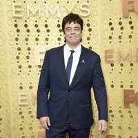 Benicio del Toro at the Emmy 2019 red carpet