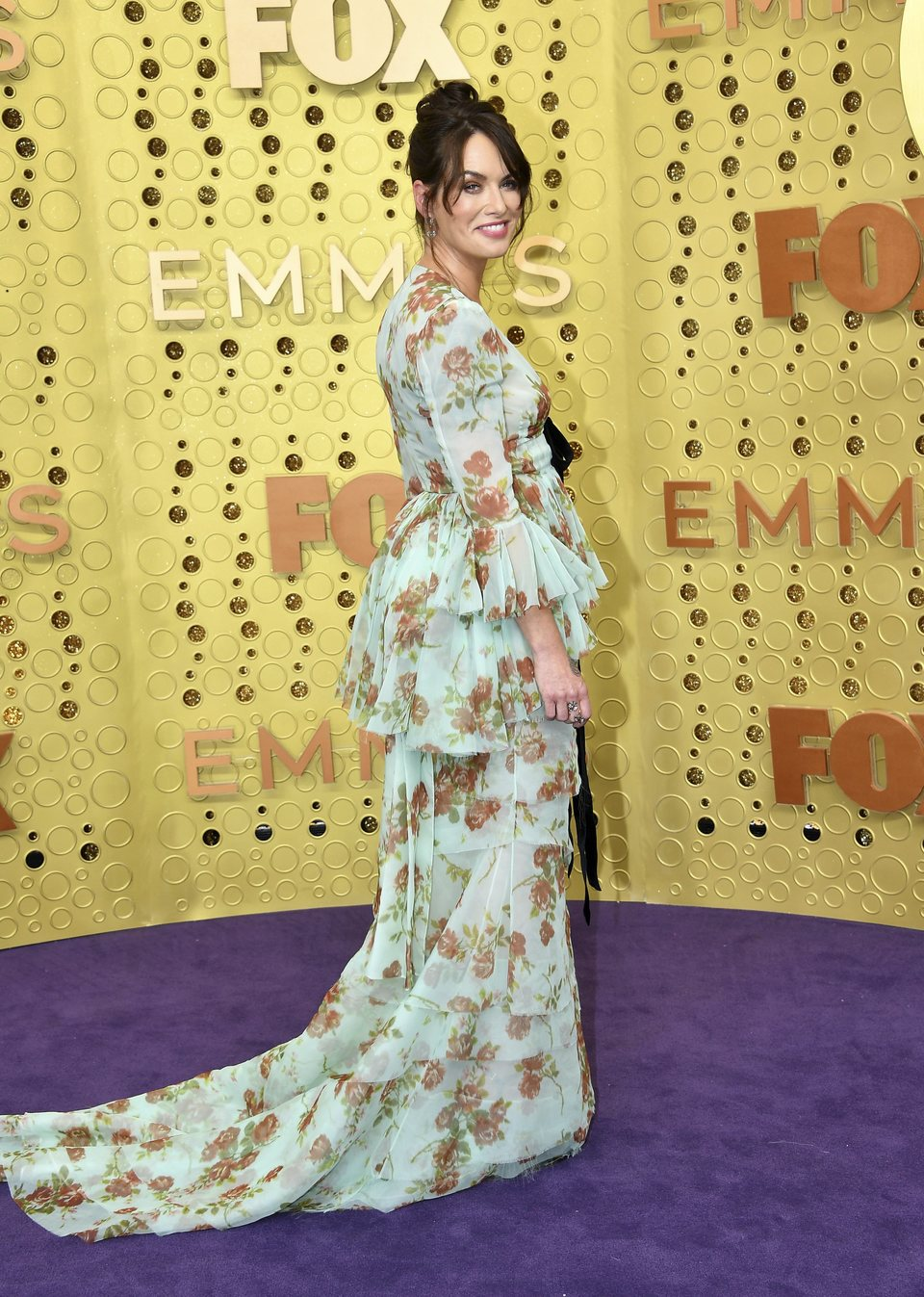 Lena Headey at the Emmy 2019 red carpet