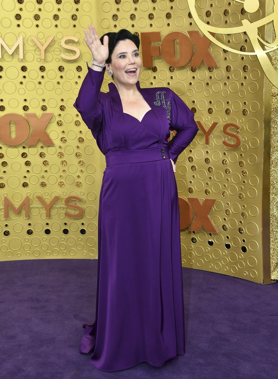 Alex Borstein at the Emmy 2019 red carpet