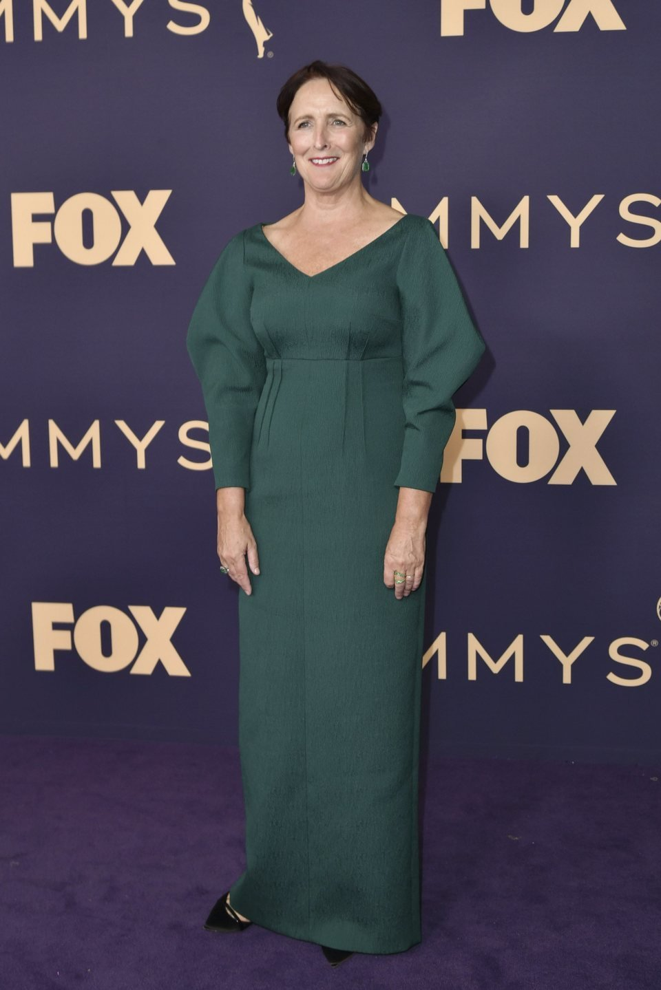 Fiona Shaw at the Emmy 2019 red carpet
