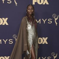 Dominique Jackson at the Emmy 2019 red carpet