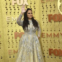 Ava DuVernay at the Emmy 2019 red carpet