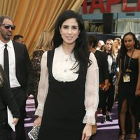 Sarah Silverman at the Emmy 2019 red carpet