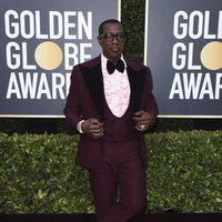 Wesley Snipes at the Golden Globes 2020 red carpet