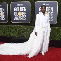 Billy Porter  at the Gloden Globes 2020 red carpet