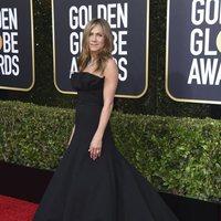 Jennifer Aniston at the 2020 Golden Globes red carpet