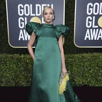 Jodie Comer at the Gloden Globes 2020 red carpet