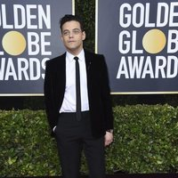 Rami Malek at the Gloden Globes 2020 red carpet