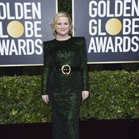 Amy Poehler at the 2020 Golden Globes red carpet