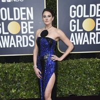 Shailene Woodley at the Gloden Globes 2020 red carpet