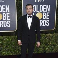 Leonardo Dicaprio at the Golden Globes 2020 red carpet