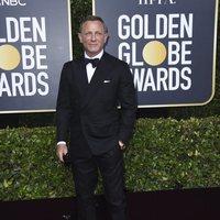 Daniel Craig at the Gloden Globes 2020 red carpet