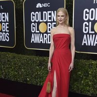 Nicole Kidman at the Gloden Globes 2020 red carpet