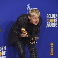 Ellen DeGeneres wins the Carol Burnett award at the 2020 Golden Globes