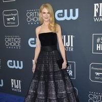 Nicole Kidman on the Critics' Choice Awards 2020 carpet