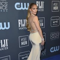 Jennifer Lopez on the Critics' Choice Awards 2020 carpet
