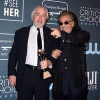 Robert De Niro & at the Critics' Choice Awards 2020 red carpet