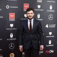 Adam Jezierski at the Feroz Awards 2020 red carpet