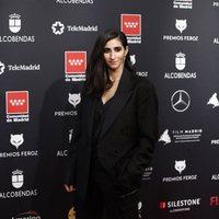Alba Flores at the Feroz Awards 2020 red carpet