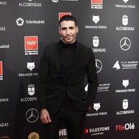 Miguel Ángel Silvestre at the Feroz Awards 2020 red carpet