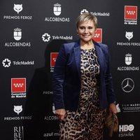 Gloria Serra at the Feroz Awards 2020 red carpet