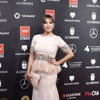 Gisela at the Feroz Awards 2020 red carpet