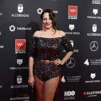 Yolanda Ramos at the Feroz Awards 2020 red carpet