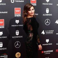 Mónica Cruz at the Feroz Awards 2020 red carpet