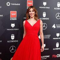 Eva Ugarte at the Feroz Awards 2020 red carpet