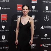 Nuria Gago at the Feroz Awards 2020 red carpet