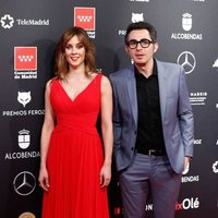Eva Ugarte y Berto Romero at the Feroz Awards 2020 red carpet