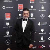 Enrique Arce at the Feroz Awards 2020 red carpet