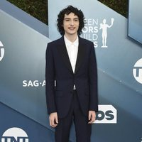 Finn Wolfhard on the red carpet of the SAG Awards 2020