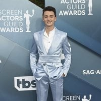 Noah Schnapp on the red carpet of the SAG Awards 2020