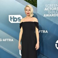 Michelle Williams on the red carpet of the SAG Awards 2020