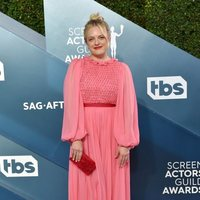 Elisabeth Moss on the red carpet of the SAG Awards 2020