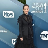Winona Ryder on the red carpet of the SAG Awards 2020