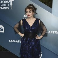 Helena Bonham Carter on the red carpet of the SAG Awards 2020