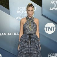 Margot Robbie on the red carpet of the SAG Awards 2020