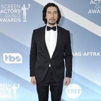 Adam Driver on the red carpet of the SAG Awards 2020