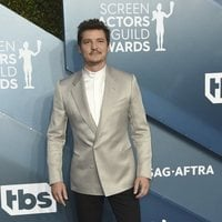 Pedro Pascal on the red carpet of the SAG Awards 2020