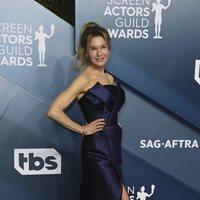 Renée Zellweger on the red carpet of the SAG Awards 2020
