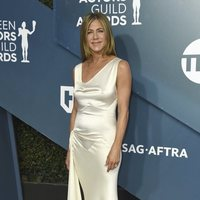 Jennifer Aniston on the red carpet of the SAG Awards 2020