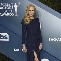 Nicole Kidman on the red carpet of the SAG Awards 2020