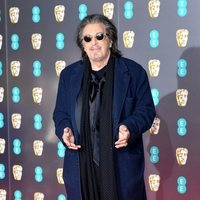 Al Pacino on the red carpet at the 2020 BAFTAs