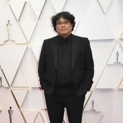 Bong Joon-ho at the red carpet of the Oscar 2020