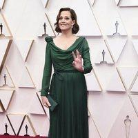 Sigourney Weaver at Oscars 2020 red carpet
